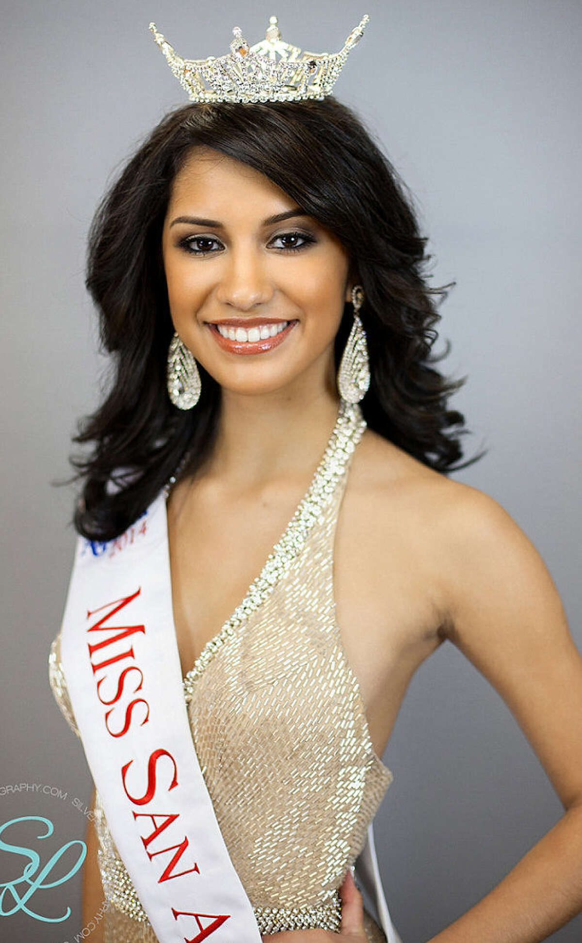 Deidra Angulo is competing for the Miss Texas crown next month.