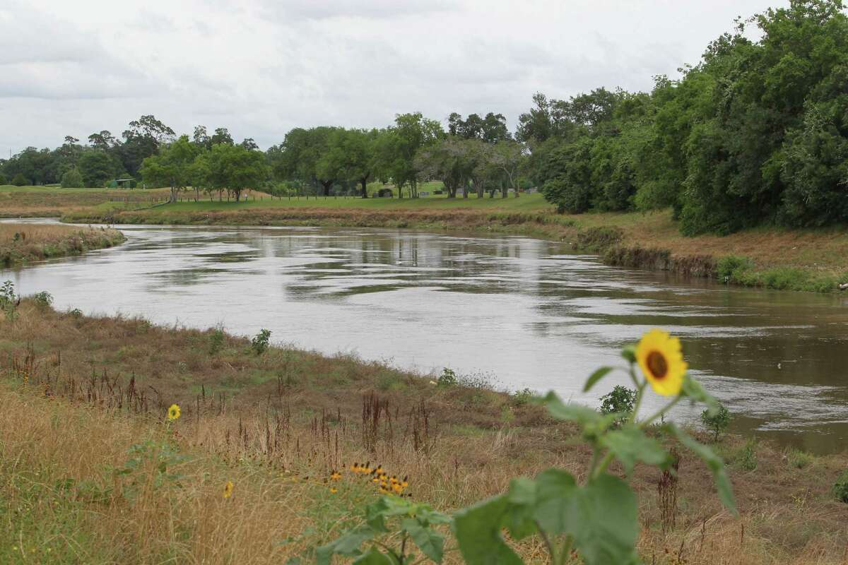 Brays Bayou in the community of Idylwood in Houston's east end Tuesday, May 13, 2014.