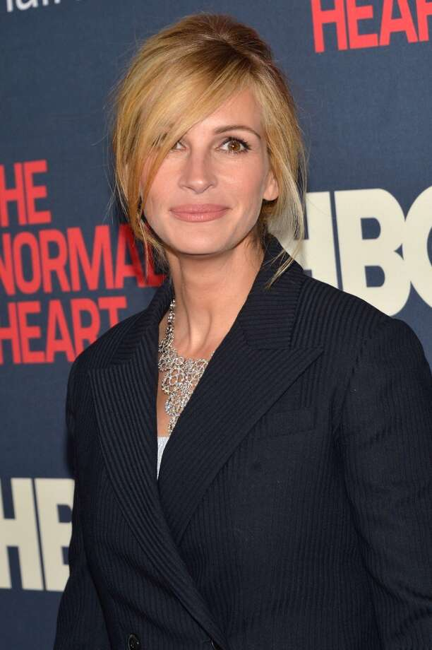 "Actress Julia Roberts attends the New York premiere of ""The Normal Heart"" at Ziegfeld Theater on May 12, 2014 in New York City. Photo: Ben Gabbe, Getty Images"