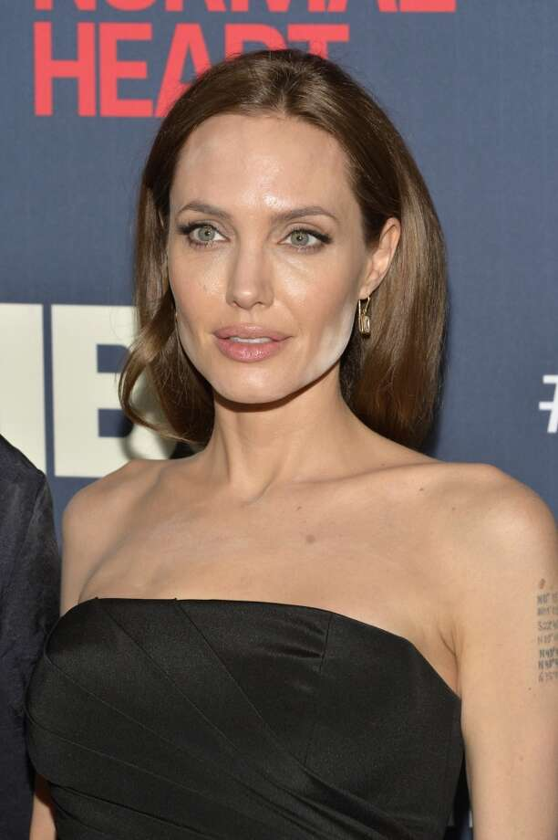 "Angelina Jolie attends the New York premiere of ""The Normal Heart"" at Ziegfeld Theater on May 12, 2014 in New York City. Photo: Ben Gabbe, Getty Images"