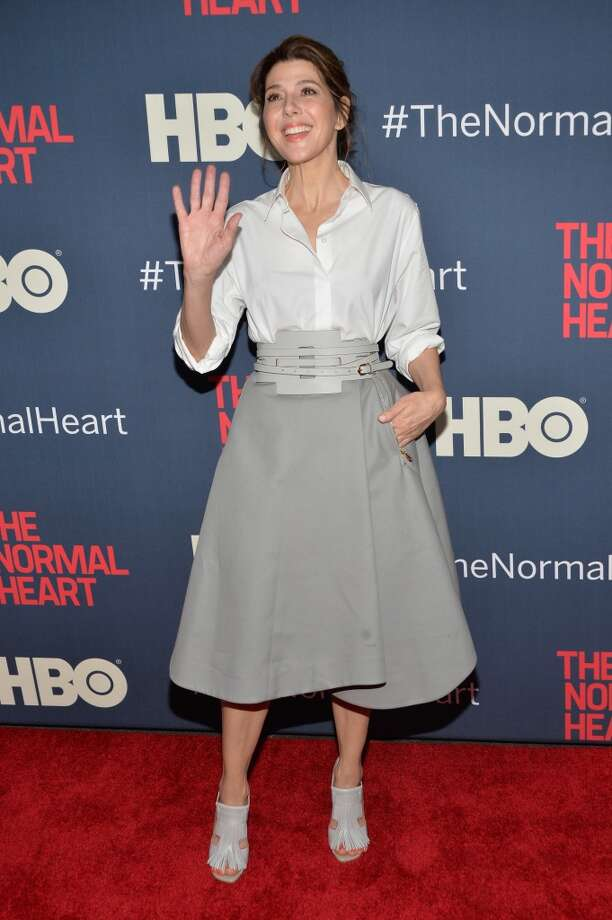 "Actress Marisa Tomei attends the New York premiere of ""The Normal Heart"" at Ziegfeld Theater on May 12, 2014 in New York City. Photo: Ben Gabbe, Getty Images"