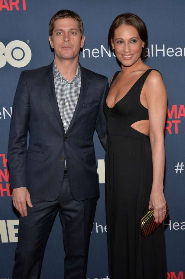 "Rob Thomas and Marisol Thomas attend the New York premiere of ""The Normal Heart"" at Ziegfeld Theater on May 12, 2014 in New York City. Photo: Ben Gabbe, Getty Images"