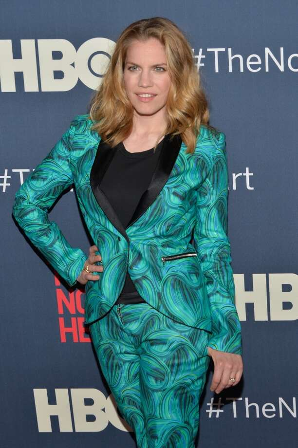 """Anna Chlumsky attends the New York premiere of """"The Normal Heart"""" at Ziegfeld Theater on May 12, 2014 in New York City. Photo: Ben Gabbe, Getty Images"""