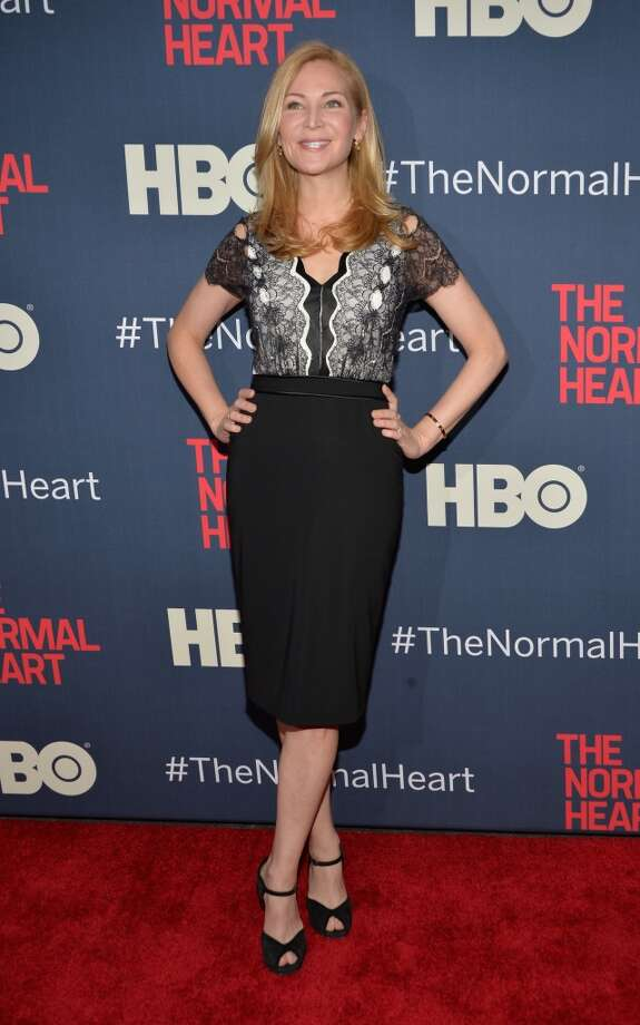 "Jennifer Westfeldt attends the New York premiere of ""The Normal Heart"" at Ziegfeld Theater on May 12, 2014 in New York City. Photo: Ben Gabbe, Getty Images"