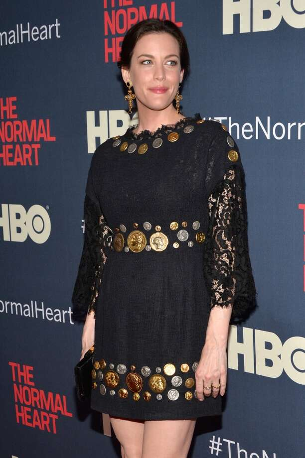 "Actress Liv Tyler attends the New York premiere of ""The Normal Heart"" at Ziegfeld Theater on May 12, 2014 in New York City. Photo: Ben Gabbe, Getty Images"