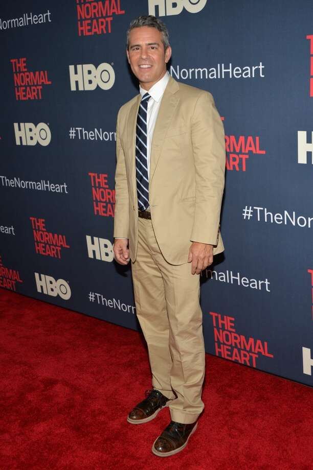 "Andy Cohen attends the New York premiere of ""The Normal Heart"" at Ziegfeld Theater on May 12, 2014 in New York City. Photo: Ben Gabbe, Getty Images"