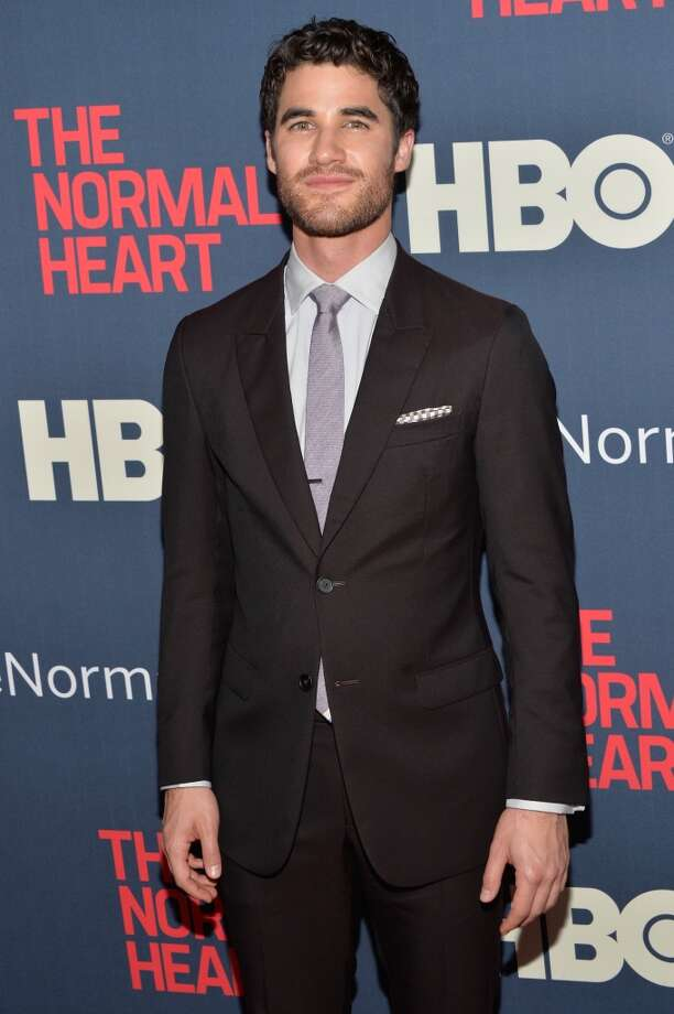 "Darren Criss attends the New York premiere of ""The Normal Heart"" at Ziegfeld Theater on May 12, 2014 in New York City. Photo: Ben Gabbe, Getty Images"