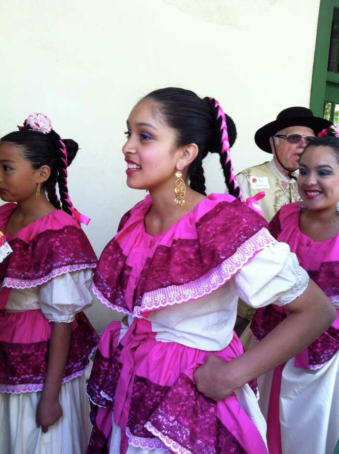 Dancers in traditional garb for La Merienda, Monterey's birthday celebration. Photo: Courtesy Wendy Brickman