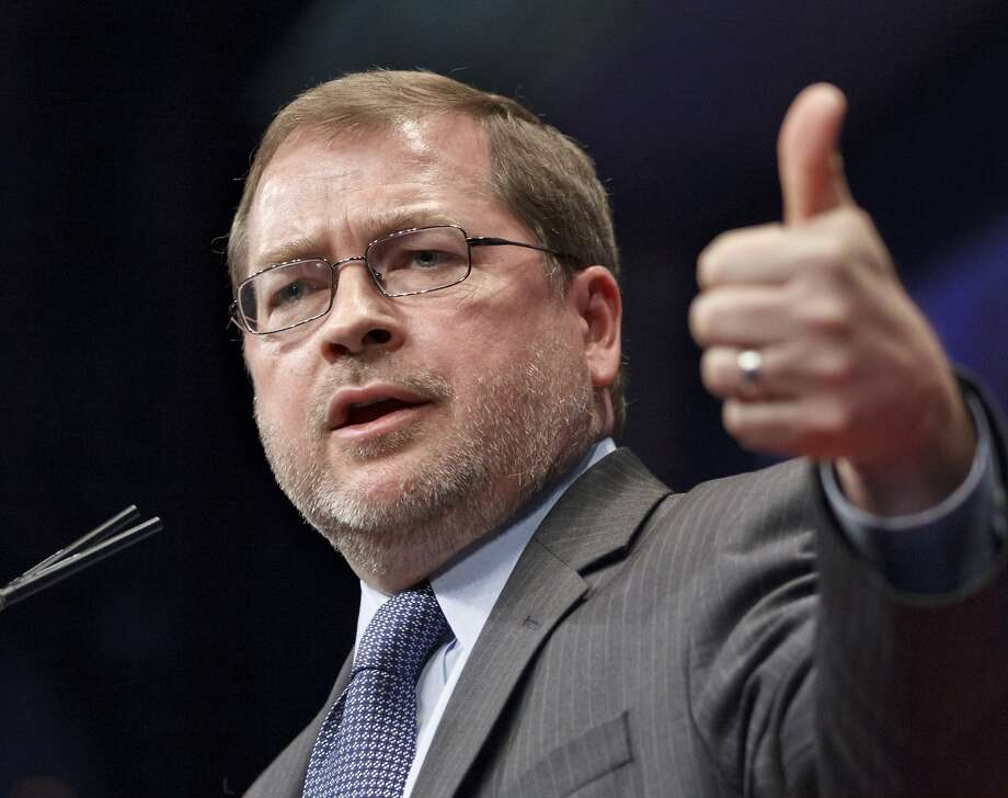 Grover Norquist Photo: J. Scott Applewhite, Associated Press