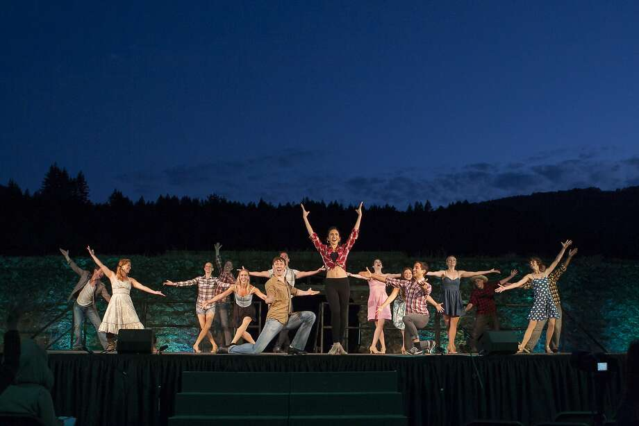 "Broadway Under the Stars  will perform ""One Singular Sensation"" at Jack London State Historic Park  in Sonoma County. Photo: Ray Mabry"