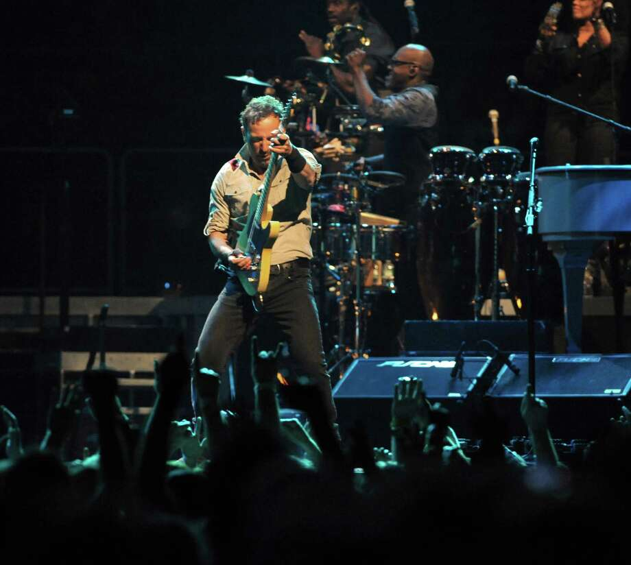 Bruce Springsteen and The E Street Band perform at the Times Union Center on Tuesday May 13, 2014 in Albany, N.Y. (Michael P. Farrell/Times Union) Photo: Michael P. Farrell / 00026878A