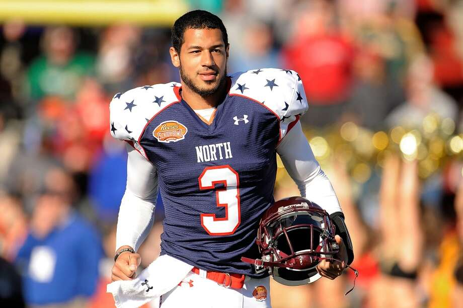 Arizona Cardinals Pick No. 120 | Logan Thomas | Quarterback | Virginia Tech Photo: Stacy Revere, Getty Images