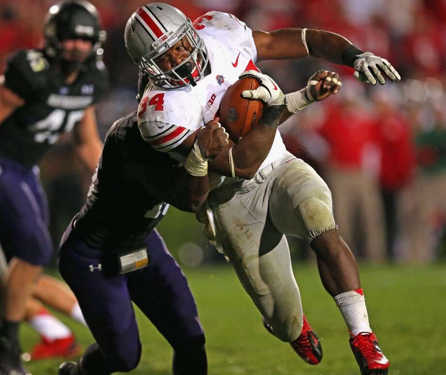 San Francisco 49ers Pick No. 57 | Carlos Hyde | Running back | Ohio State Photo: Jonathan Daniel, Getty Images