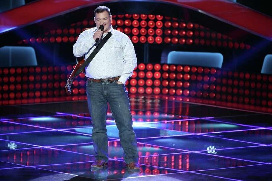 "THE VOICE -- ""Blind Auditions"" Episode 601 -- Pictured: Jake Worthington -- (Photo by: Tyler Golden/NBC) Photo: NBC, Tyler Golden/NBC / 2013 NBCUniversal Media, LLC"