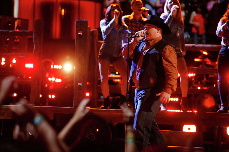 """THE VOICE -- """"Live Show"""" Episode 619A -- Pictured: Jake Worthington -- (Photo by: Trae Patton/NBC) Photo: Trae Patton/NBC / 2014 NBCUniversal Media, LLC"""