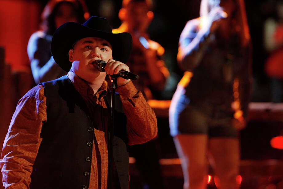 "THE VOICE -- ""Live Show"" Episode 619A -- Pictured: Jake Worthington -- (Photo by: Trae Patton/NBC) Photo: NBC, Trae Patton/NBC / 2014 NBCUniversal Media, LLC"