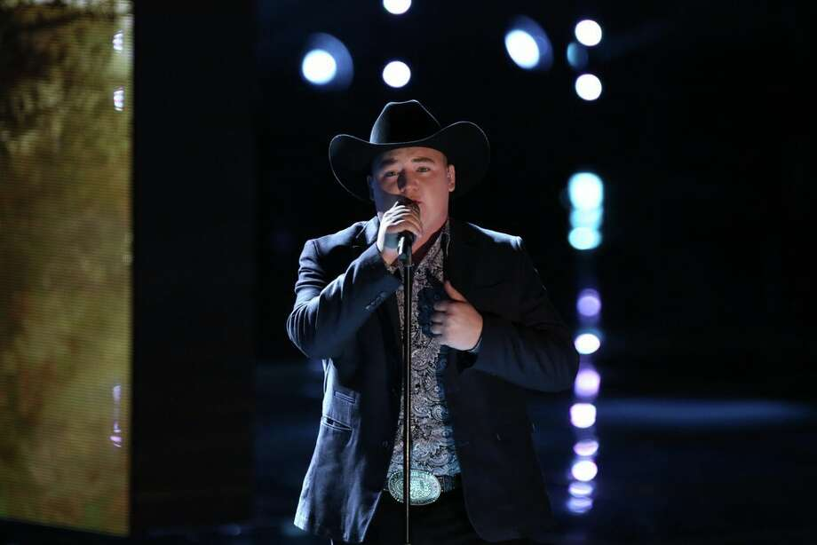 "THE VOICE -- ""Live Show"" Episode 620A -- Pictured: Jake Worthington -- (Photo by: Tyler Golden/NBC) Photo: NBC, Tyler Golden/NBC / 2014 NBCUniversal Media, LLC"