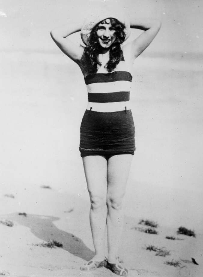 Dancer Dorothy Dey enjoying the sun on Miami Beach, Florida, circa 1930. Photo: General Photographic Agency, Getty Images