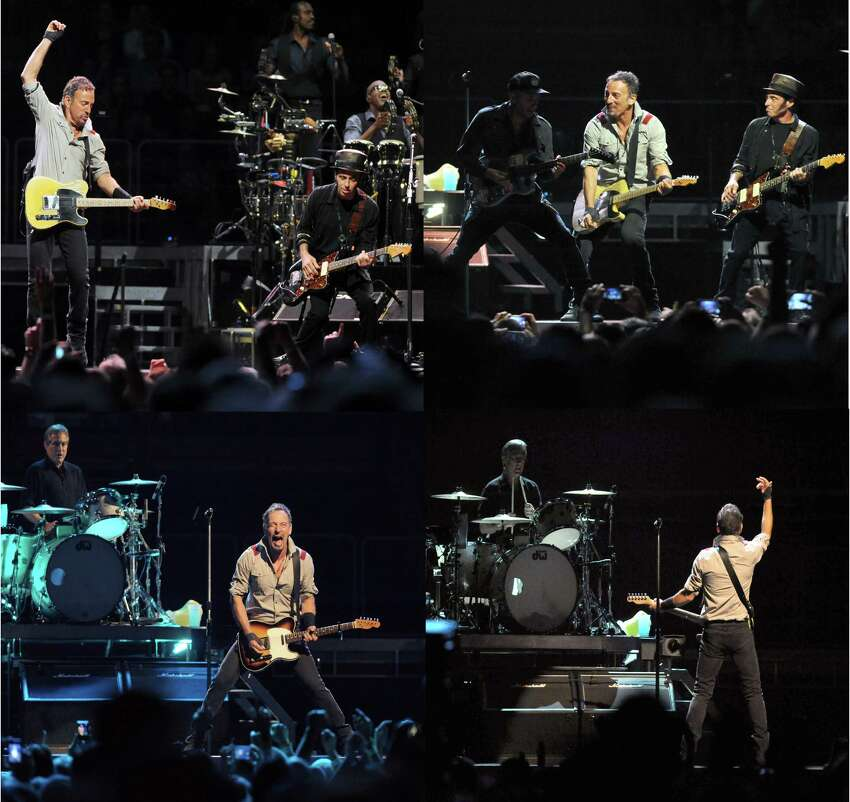 Bruce Springsteen and The E Street Band perform at the Times Union Center on Tuesday May 13, 2014 in Albany, N.Y. (Michael P. Farrell/Times Union)