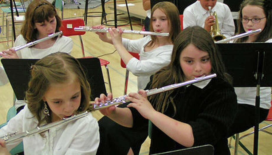 All current third- and fourth-grade students in Darien public schools who wish to begin learning a band instrument in the fall are invited to attend one of the informational meetings, which begin Wednesday, May 21. Photo: Contributed Photo, Contributed / Darien News