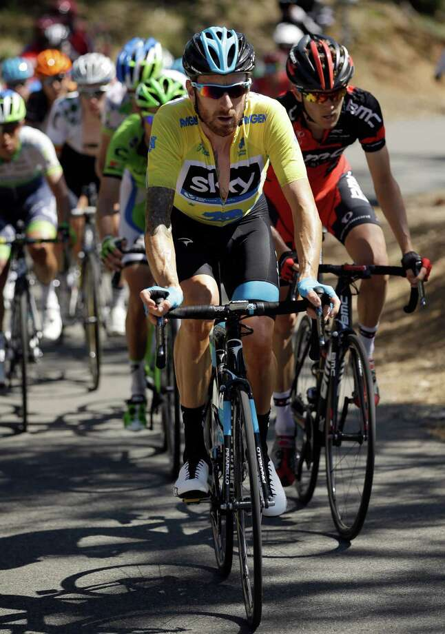 Bradley Wiggins of Great Britain, shown here leading riders up Mt. Diablo in the 2014 race, won last year's Amgen Tour of California. Photo: Ezra Shaw / Ezra Shaw / Getty Images (2014) / 2014 Getty Images