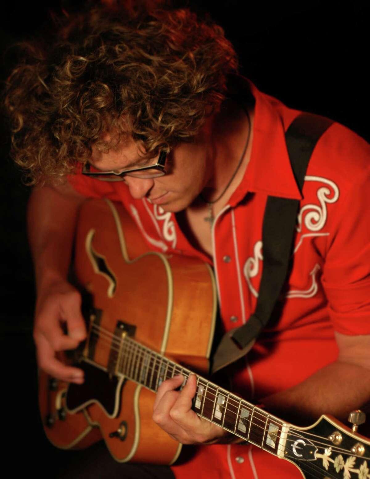 Houston-bred, Austin-based crooner John Evans. Courtesy photo.