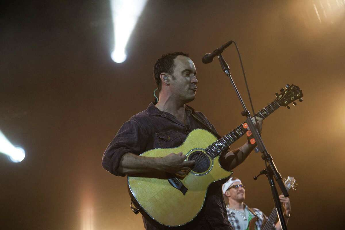 Dave Matthews and the Dave Matthews Band perform Friday in The Woodlands.