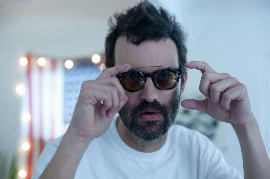 Mark Oliver Everett, aka E, of the rock band Eels Photo: Parker Fitzgerald
