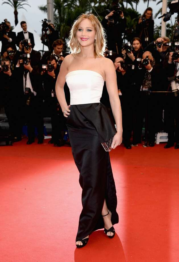 Jennifer Lawrence attends the Premiere of 'Jimmy P. (Psychotherapy Of A Plains Indian)' at Palais des Festivals during The 66th Annual Cannes Film Festival on May 18, 2013 in Cannes, France. Photo: Venturelli, WireImage