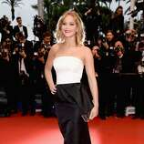 Jennifer Lawrence attends the Premiere of 'Jimmy P. (Psychotherapy Of A Plains Indian)' at Palais des Festivals during The 66th Annual Cannes Film Festival on May 18, 2013 in Cannes, France.