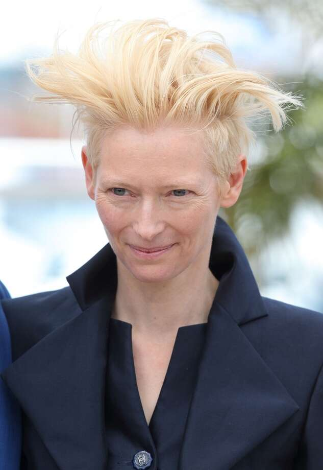 Tilda Swinton attends the photocall for 'Only Lovers Left Alive' at The 66th Annual Cannes Film Festival on May 25, 2013 in Cannes, France. Photo: Mike Marsland, WireImage