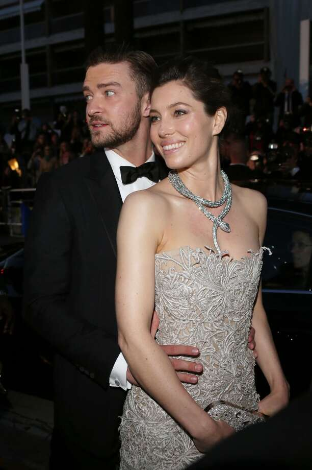 Justin Timberlake and Jessica Biel attend the Premiere of 'Inside Llewyn Davis' at The 66th Annual Cannes Film Festival on May 19, 2013 in Cannes, France. Photo: Venturelli, WireImage