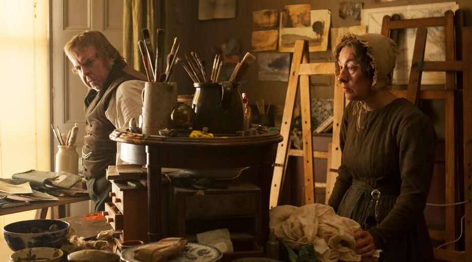 """Director:Mike LeighCountry: United KingdomStarring: Timothy Spall Dorothy Atkinson Marion Bailey Paul JessonSynopsis: """"Mr. Turner"""" explores the last quarter century of the great if eccentric British painter J.M.W. Turner (1775-1851). Profoundly affected by the death of his father, loved by a housekeeper  he takes for granted and occasionally exploits sexually, he forms a  close relationship with a seaside landlady with whom he eventually lives  incognito in Chelsea, where he dies. Throughout this, he travels,  paints, stays with the country aristocracy, visits brothels, is a  popular if anarchic member of the Royal Academy of Arts, has himself  strapped to the mast of a ship so that he can paint a snowstorm, and is  both celebrated and reviled by the public and by royalty.                         Read more at festival-cannes.com Photo: Promotional Still"""