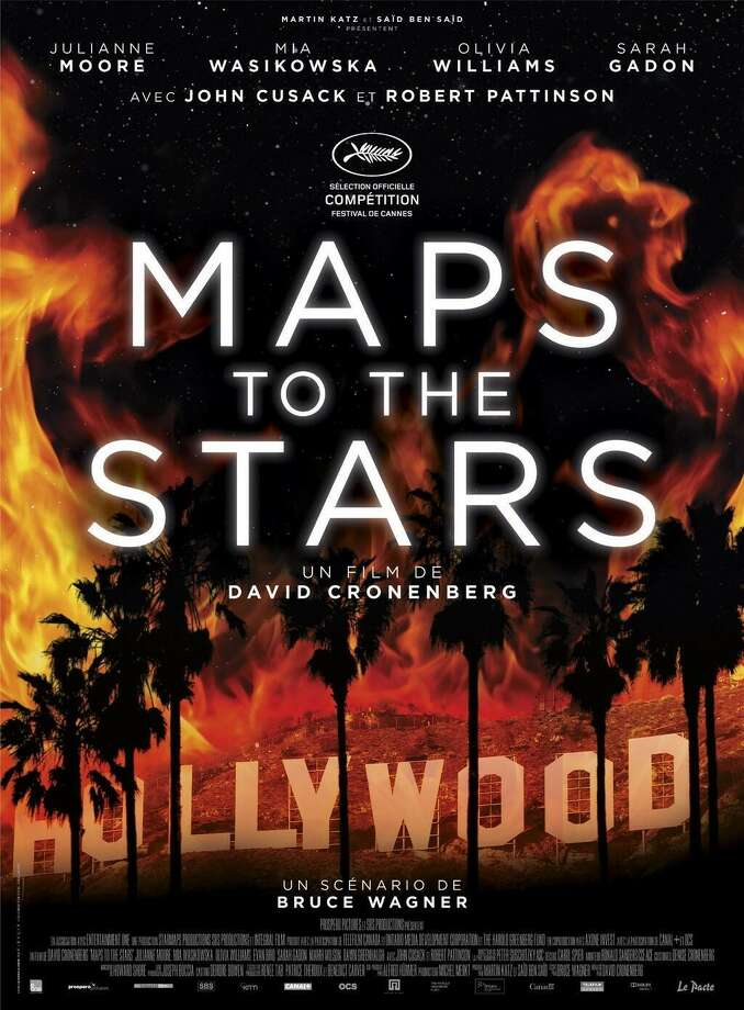 Director: David CronenbergCountry: Canada, GermanyStarring: Julianne Moore, Mia Wasikowska, John Cusack, Robert PattinsonSynopsis: Maps to the Stars connects the savage beauty of writer Bruce Wagner's 