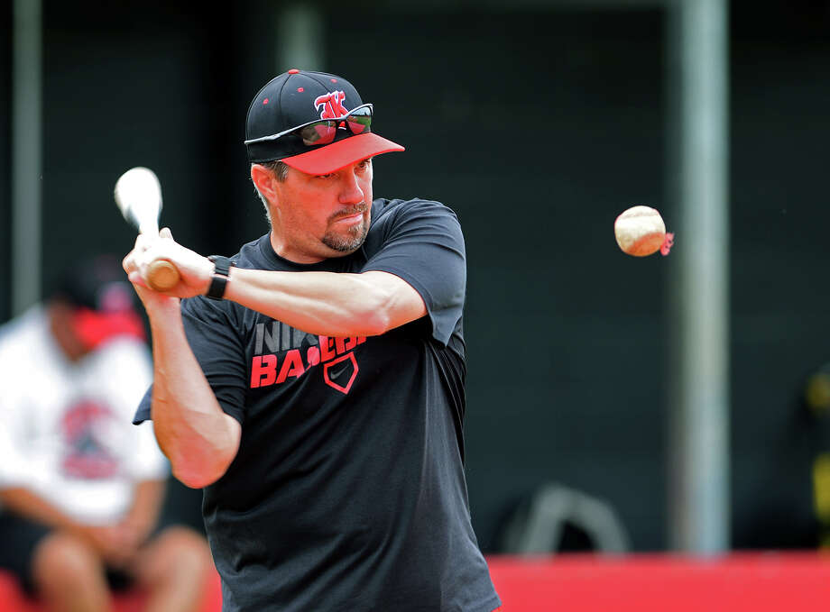 Coach Jeff Bennett, who previously coached at Kirbyville and Beaumont United, will be the new head baseball coach for Anahuac. Photo taken Tuesday 5/13/14 Jake Daniels/@JakeD_in_SETX Photo: Jake Daniels / ©2014 The Beaumont Enterprise/Jake Daniels