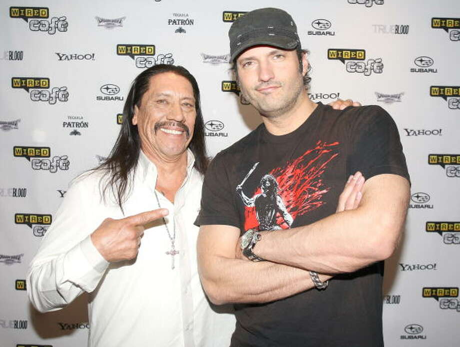 Click to see which of your favorite Texas celebrities are related along with some other famous Hollywood faces you'll recognize.Born in San Antonio, Texas - Filmmaker Robert Rodriguez is second cousin of actor Danny Trejo Photo: Robert Benson, Getty Images / 2010 Getty Images