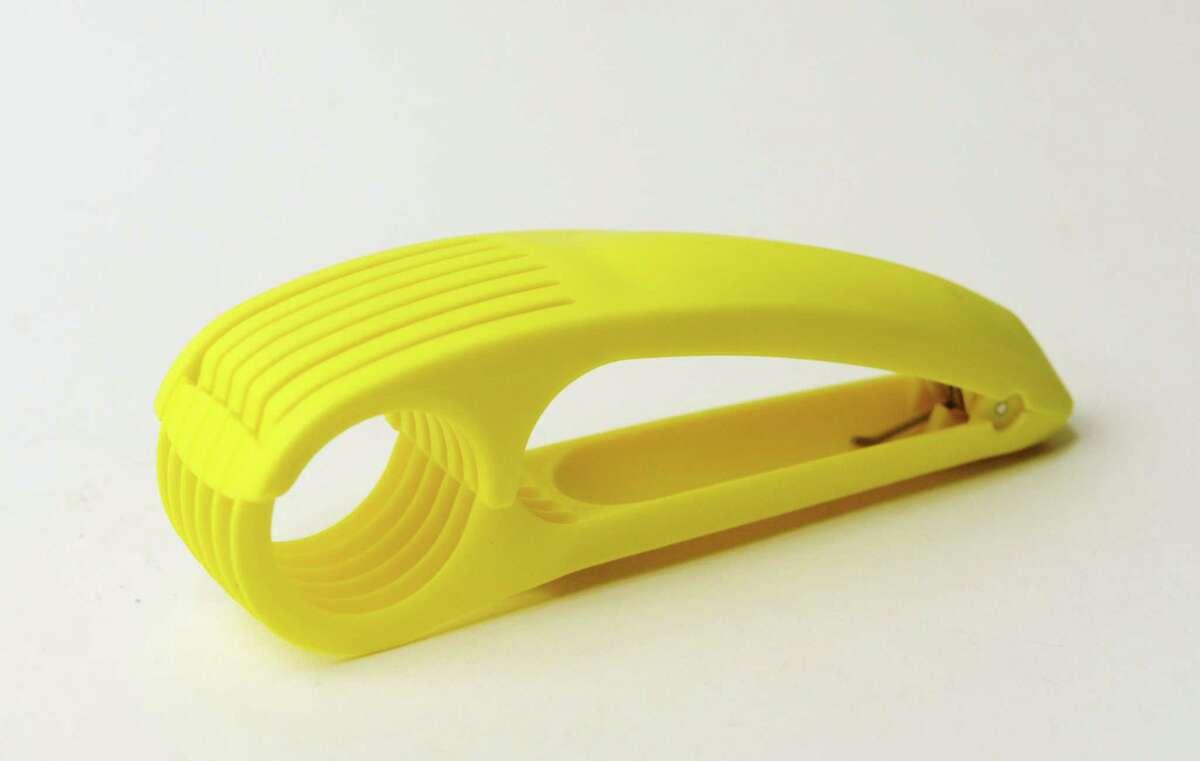 Reader guesses:Radish slicer, noodle cutter, egg slicer. What is it? Click to find out.