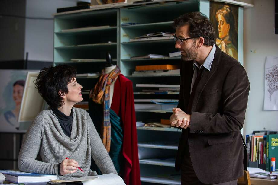 "Juliette Binoche and Clive Owen play teachers at a prep school in the new romantic comedy ""Words and Pictures."" Photo: Roadside Attractions 2014"