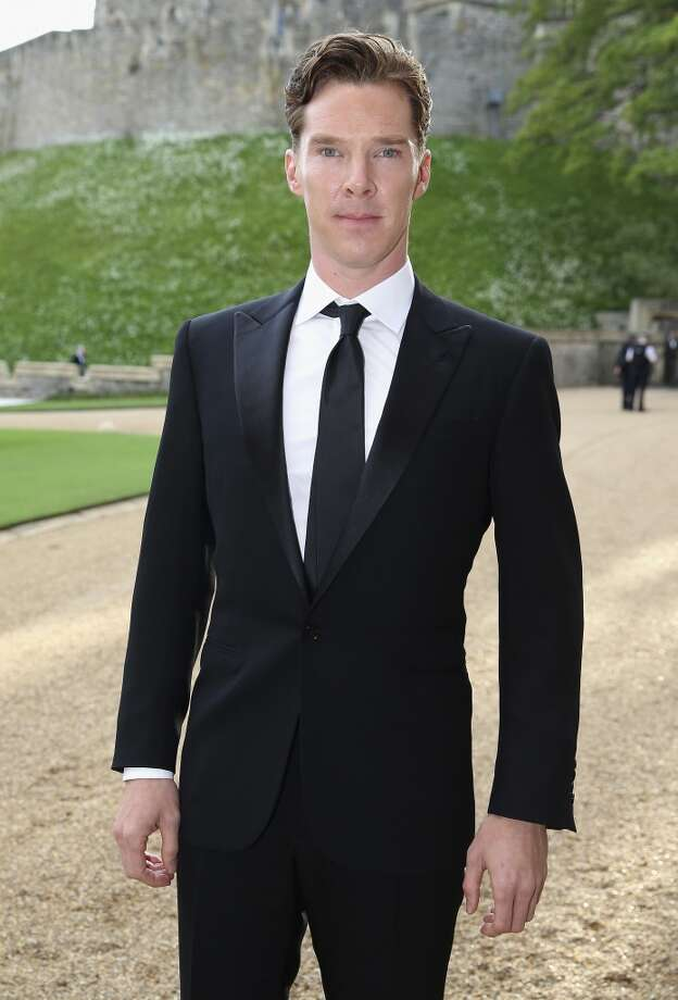 British actor Benedict Cumberbatch arrives for a dinner to celebrate the work of The Royal Marsden hosted by Prince William, the Duke of Cambridge at Windsor Castle in Windsor on May 13, 2014. Photo: CHRIS JACKSON, AFP/Getty Images