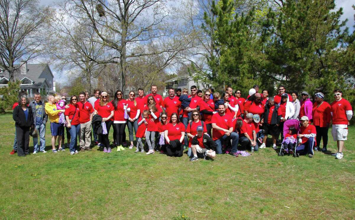 More than 50 employees of Shelton-based Survey Sampling International in Shelton, Conn. participated in the March of Dimes March for Babies in May, raising $10,000.
