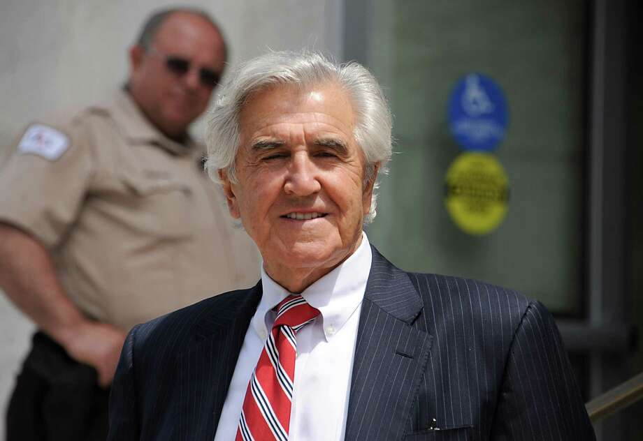 Former state Senate Majority Leader Joseph L. Bruno leaves the James T. Foley U.S. Courthouse on Wednesday, May 14, 2014 in Albany, N.Y.  (Lori Van Buren / Times Union) Photo: Lori Van Buren / 00026783H