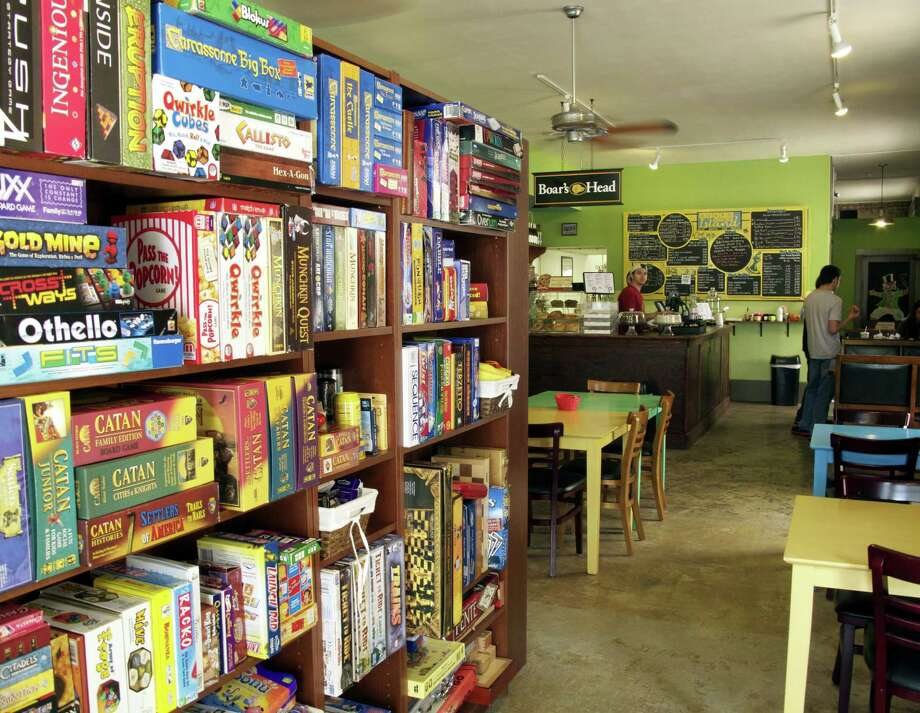 Board Game Island is a cafe and gathering place for game enthusiasts in Galveston. Photo: Jody Schmal