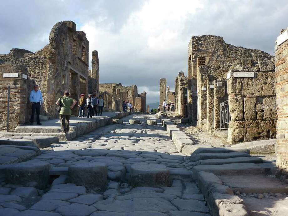 Chronicle reader Karen George submitted this photo taken in Pompeii near Naples, Italy. Photo: Karen George / Karen George