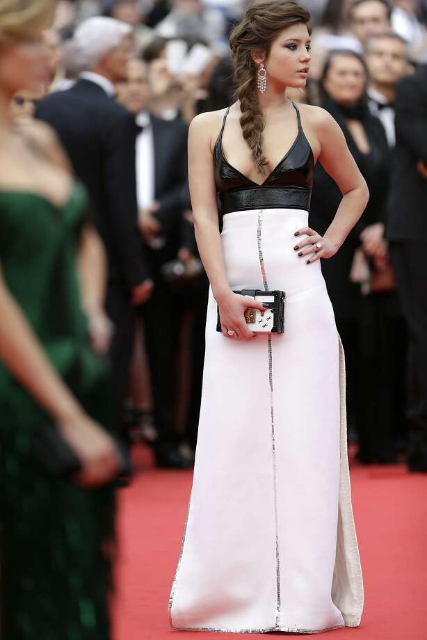 Adele Exarchopoulos - She keeps it simple and just the right amount of sexy.  Photo: Thibault Camus, Associated Press