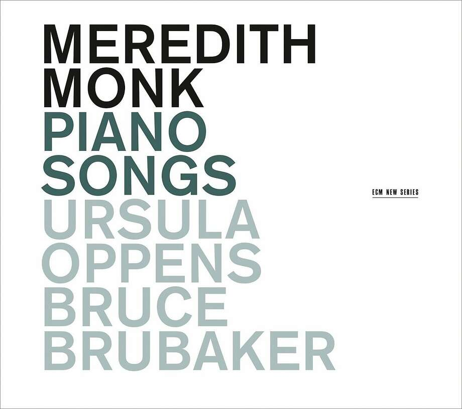 "cd cover ""Piano Songs"" by Meredith Monk Photo: ECM New Series, Amazon.com"