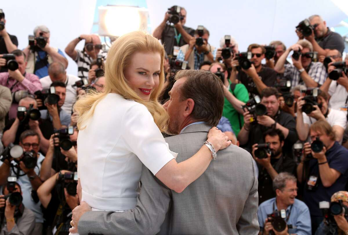 Nicole Kidman and Tim Roth pose during the 67th Annual Cannes Film Festival on May 14, 2014 in Cannes, France.