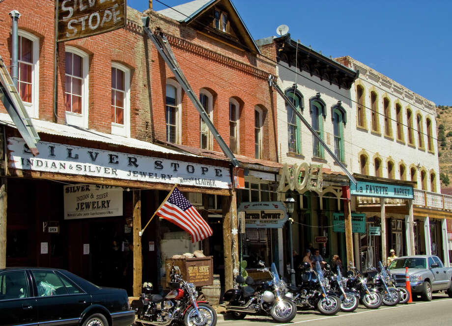 Buildings are built close together in Virginia City, Nevada. Photo: Ryan Jerz, Nevada Commission On Tourism / 2008 Nevada Commission on Tourism