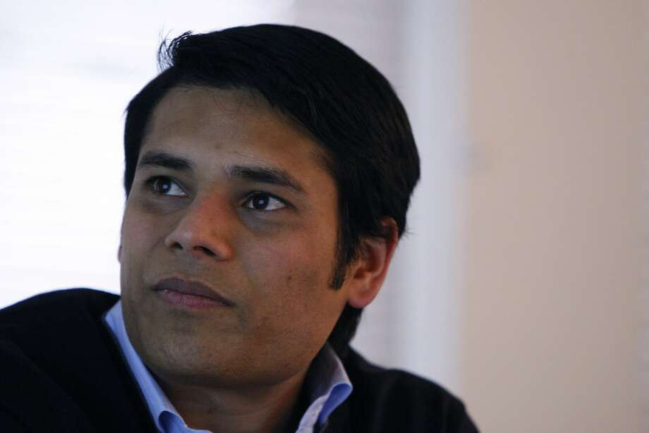 Nirav Tolia - the CEO of Nextdoor at the headquarters downtown San Francisco, California. Nextdoor is a private social network and creates connection between people in different neighborhood. The company lounged Nationally last October and has 30 employees as of today, February 21, 2012. Photo: Siana Hristova, The Chronicle