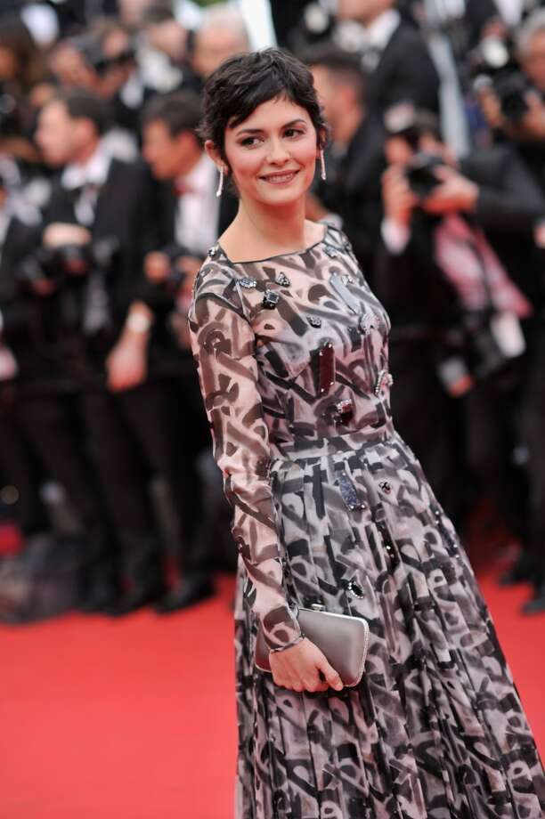 "Actress  Audrey Tautou attends the Opening ceremony and the ""Grace of Monaco"" Premiere during the 67th Annual Cannes Film Festival on May 14, 2014 in Cannes, France. Photo: Gareth Cattermole, Getty Images"