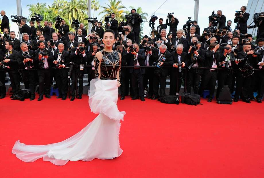 "Zhang Ziyi attends the Opening Ceremony and the ""Grace of Monaco"" premiere during the 67th Annual Cannes Film Festival on May 14, 2014 in Cannes, France. Photo: Gareth Cattermole, Getty Images"
